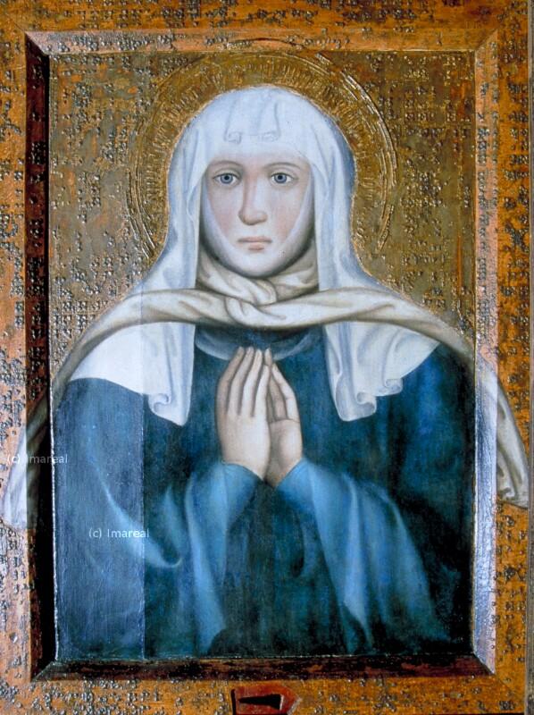 Hl. Ludmilla von Meister Theoderich