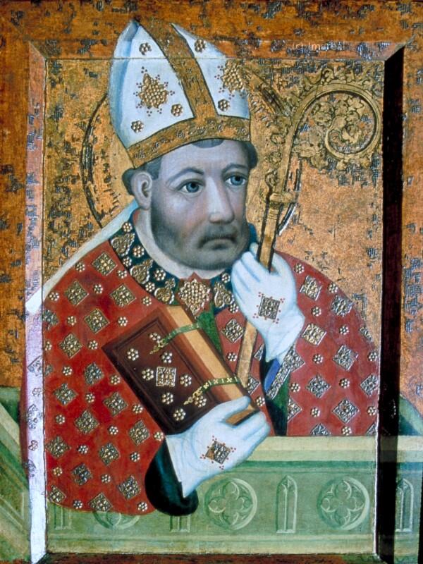 Hl. Bischof von Meister Theoderich