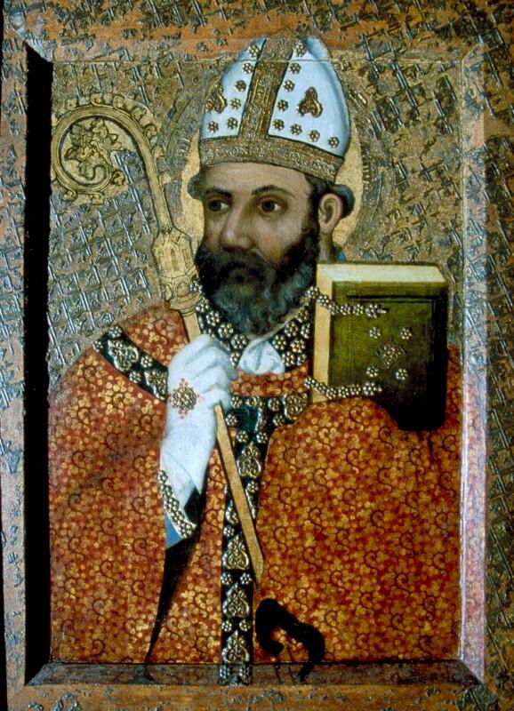 Hl. Erzbischof von Meister Theoderich