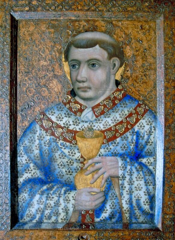 Hl. Priester von Meister Theoderich