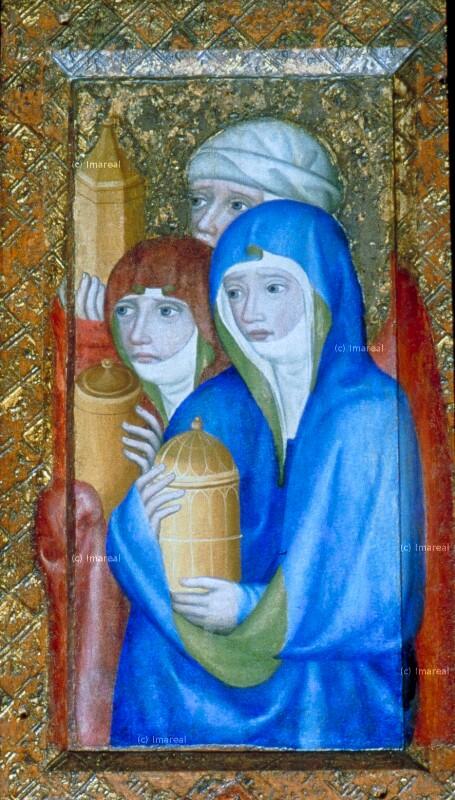 Drei Marien am Grab Christi von Meister Theoderich