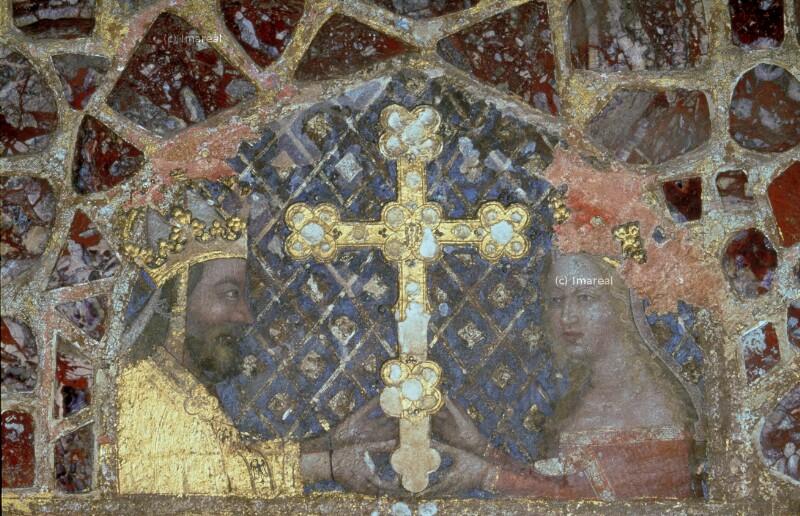 Kaiser Karl IV. und Anna von Schweidnitz von Meister Theoderich