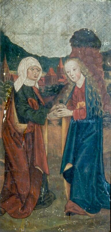 Heimsuchung Mariens von Meister des Veiprnice Altars