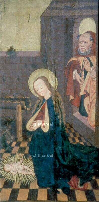 Geburt Christi von Meister des Veiprnice Altars