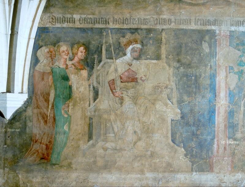 Judit mit dem Haupt des Holofernes von Meister des Emauszyklus