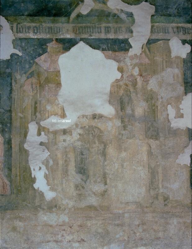Tempel in Rom von Meister des Emauszyklus