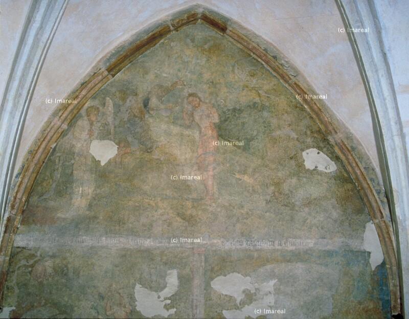 Taufe Jesu von Meister des Emauszyklus