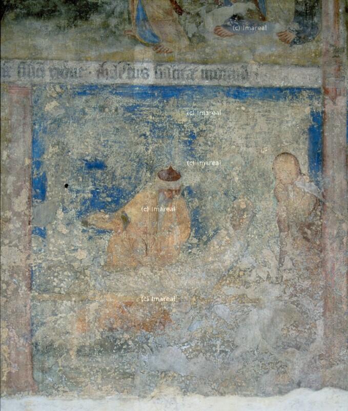 Elischa erweckt den Sohn der Sunamitin von Meister des Emauszyklus