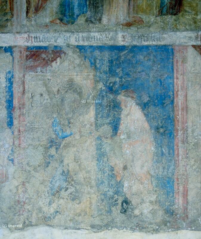 Speisung des Elija durch die Witwe von Sarepta von Meister des Emauszyklus