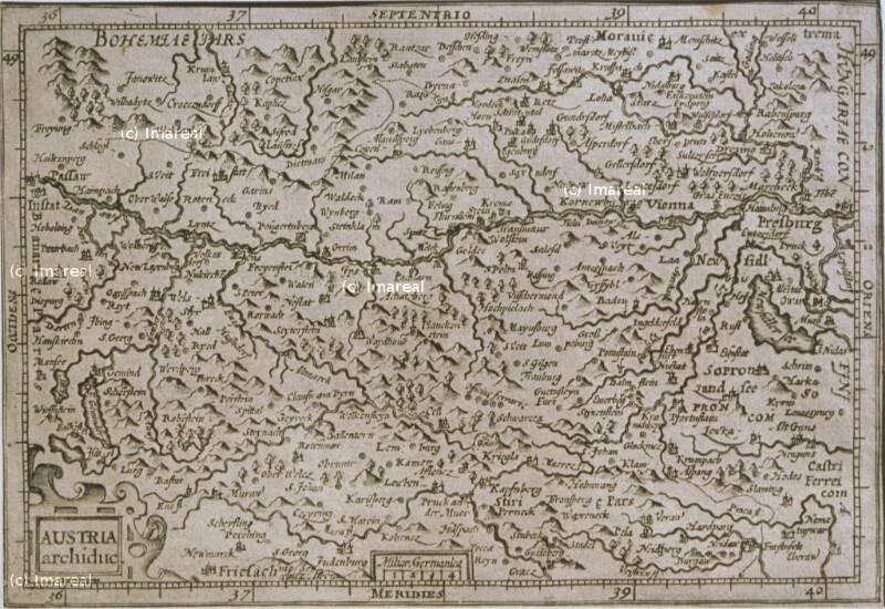 Landkarte Österreich von Mercator Gerhard