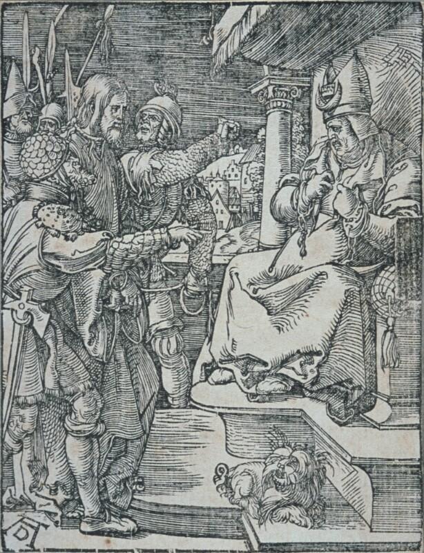 Christus vor Hannas von Dürer Albrecht