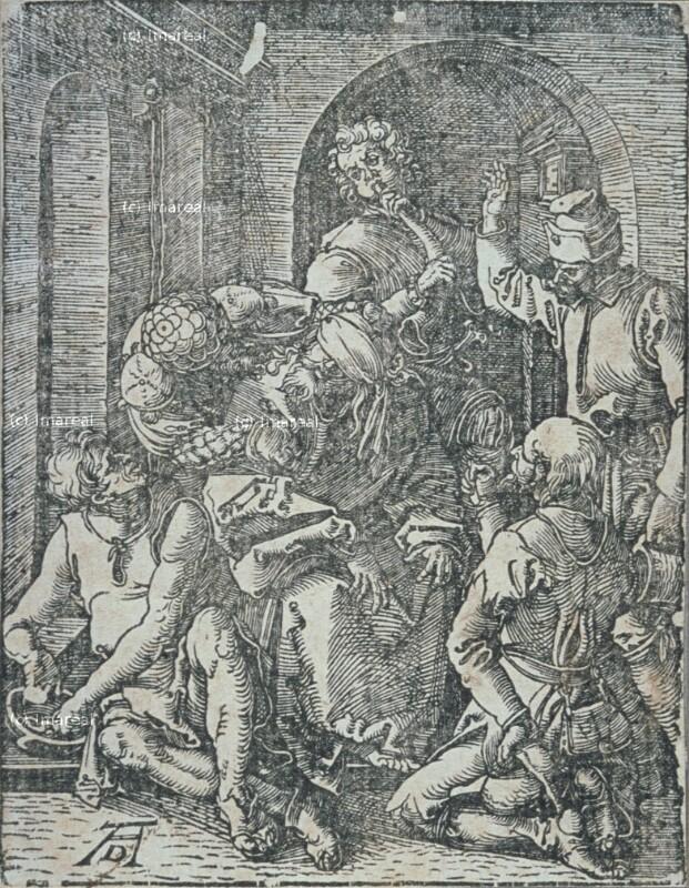 Verspottung Christi von Dürer Albrecht