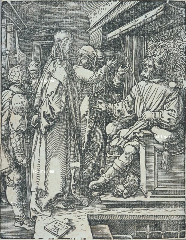 Christus vor Herodes von Dürer Albrecht