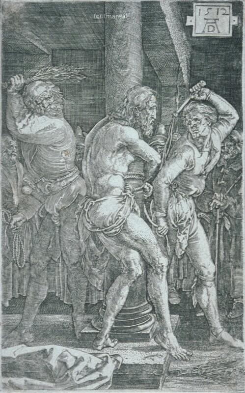 Geißelung Christi von Dürer Albrecht