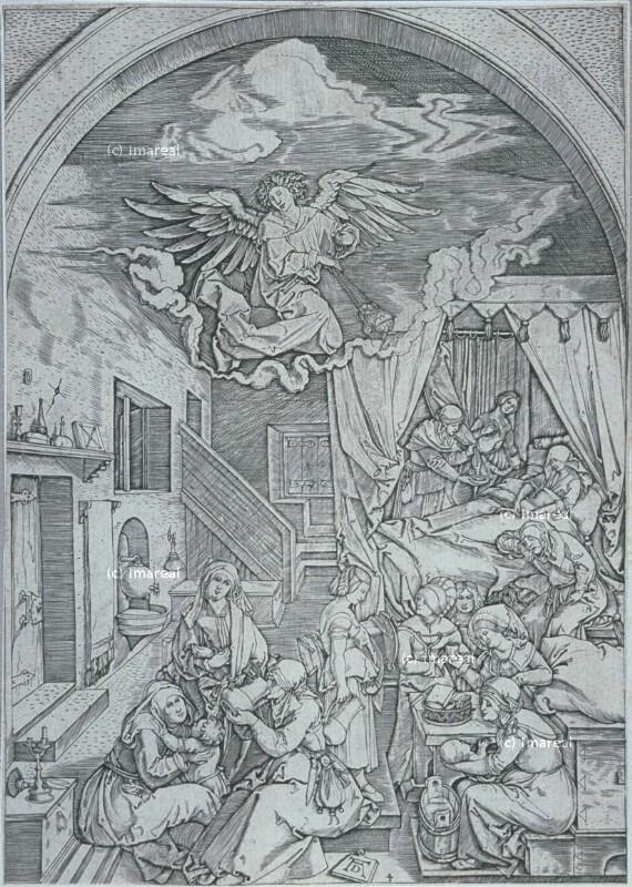 Geburt Mariens von Dürer Albrecht