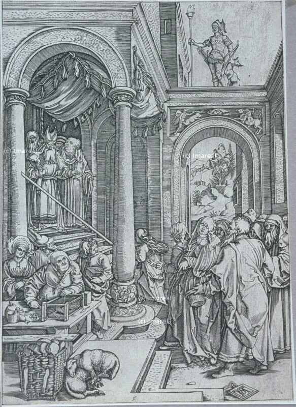 Tempelgang Mariens von Dürer Albrecht