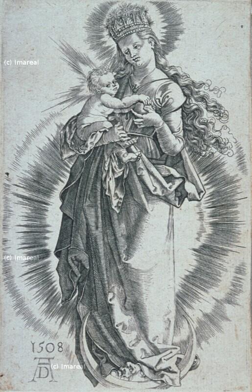 Mondsichelmadonna von Dürer Albrecht