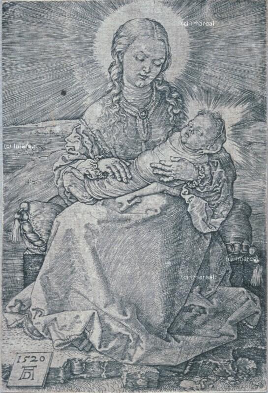 Hl. Maria mit Kind von Dürer Albrecht