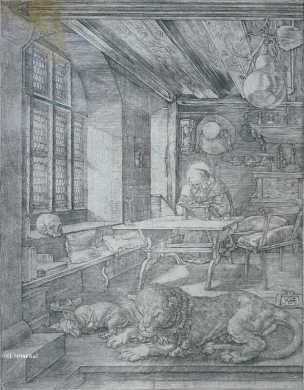 Hl. Hieronymus im Gehäuse von Dürer Albrecht