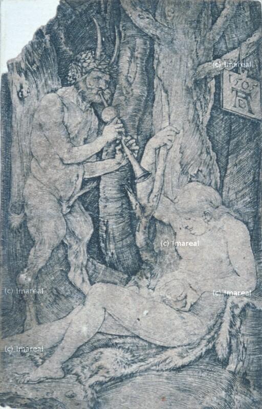 Satyrfamilie von Dürer Albrecht
