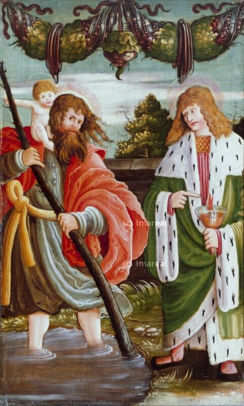 Hl. Christophorus von Meister des kleinen Mariazeller Wunderaltars
