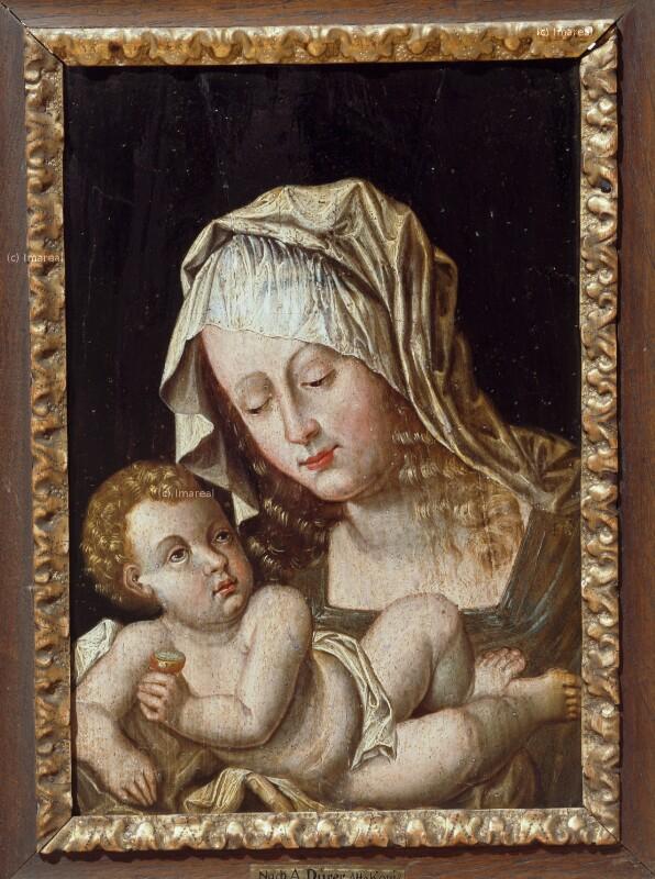 Hl. Maria mit Kind von Dürer-Kopie