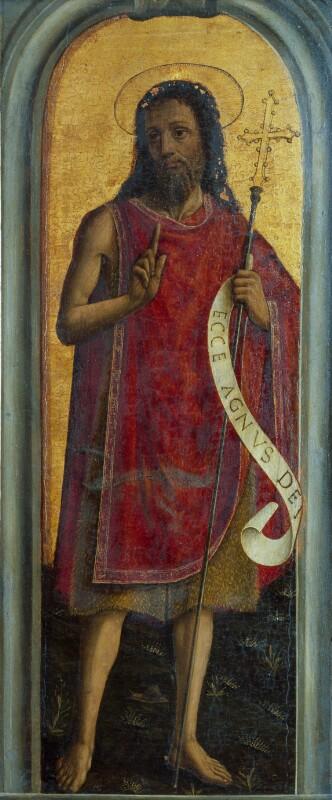 Hl. Johannes der Täufer von Mabuse Jan
