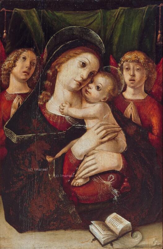 Hl. Maria mit Kind von Liberale da Verona