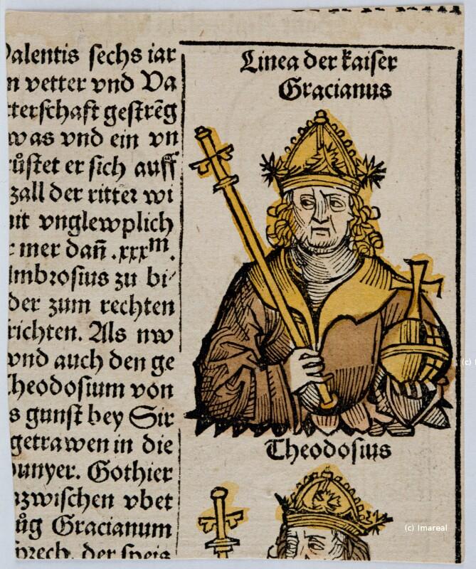 Kaiser Theodosius von Pleydenwurff-Wolgemut-Umkreis