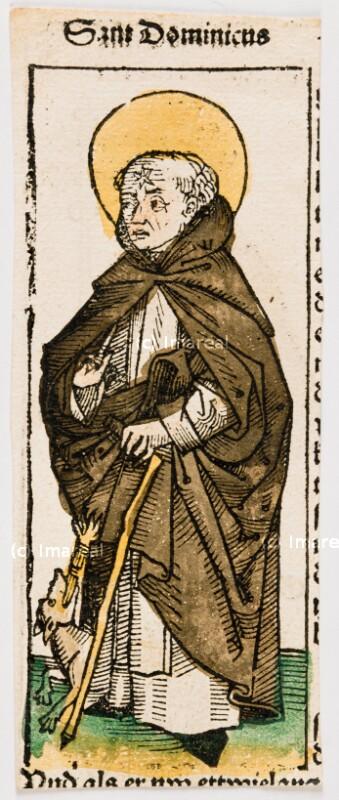 Hl. Dominikus von Pleydenwurff-Wolgemut-Umkreis