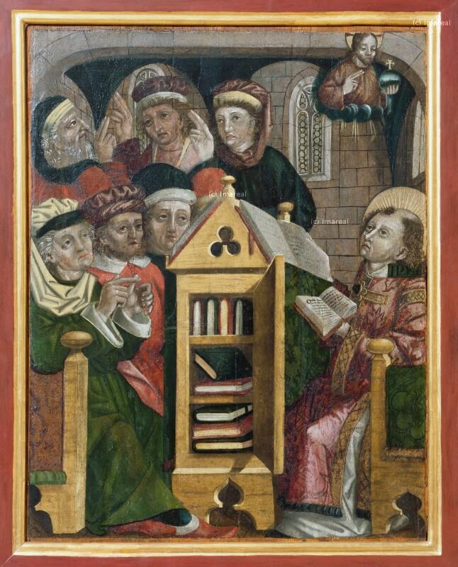 Disputation des Hl. Stephan mit den Juden von