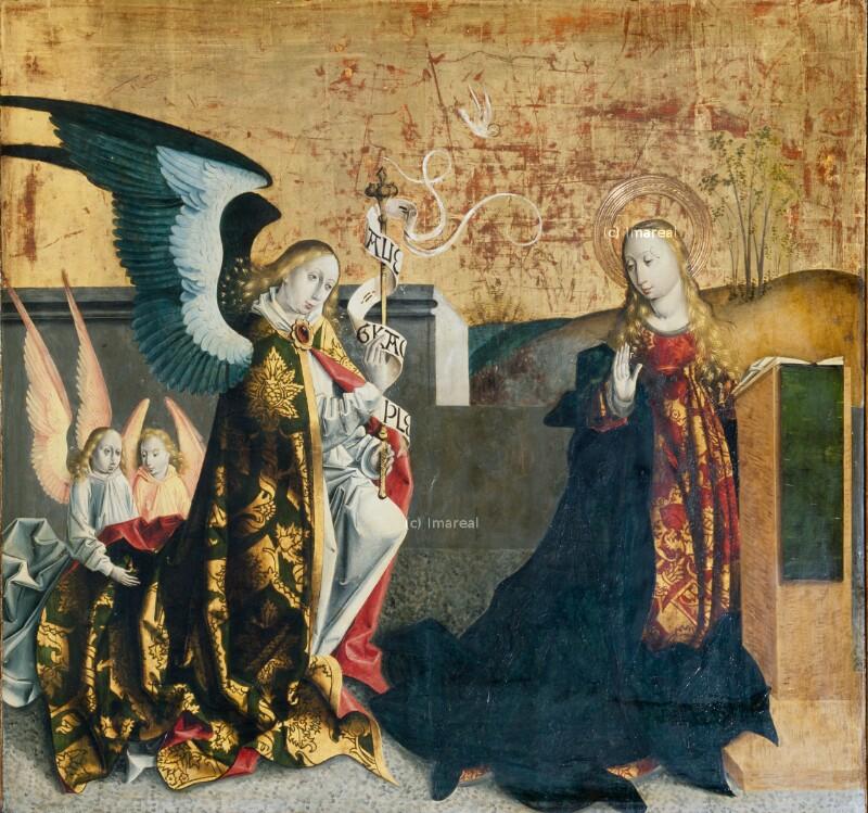 Verkündigung an Maria von Meister von Spisska Kapitula