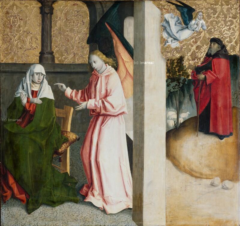 Verkündigung an Joachim von Meister von Spisska Kapitula