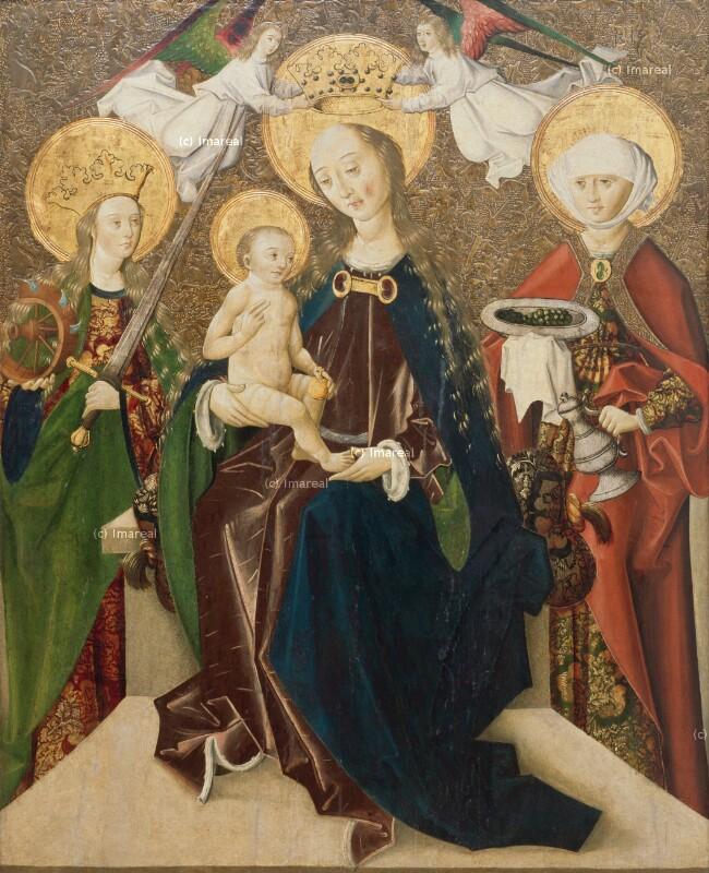 Hl. Maria mit Kind von Meister Martin