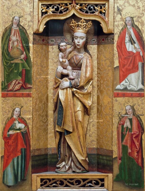 Hl. Ursula von Meister des Dreikönigsaltars von Paludzka