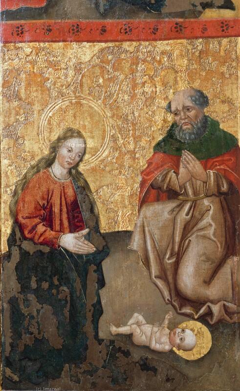 Geburt Christi von Meister des Dreikönigsaltars von Paludzka