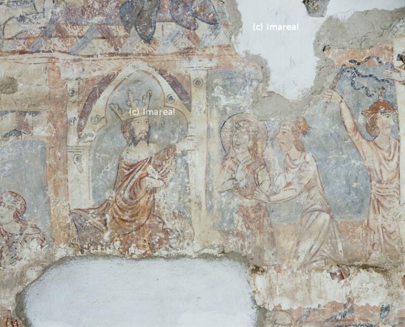 Hl. Margareta vor dem Richter Olibrius
