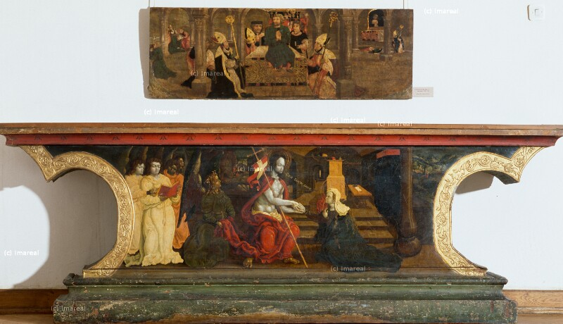 Christus erscheint Maria