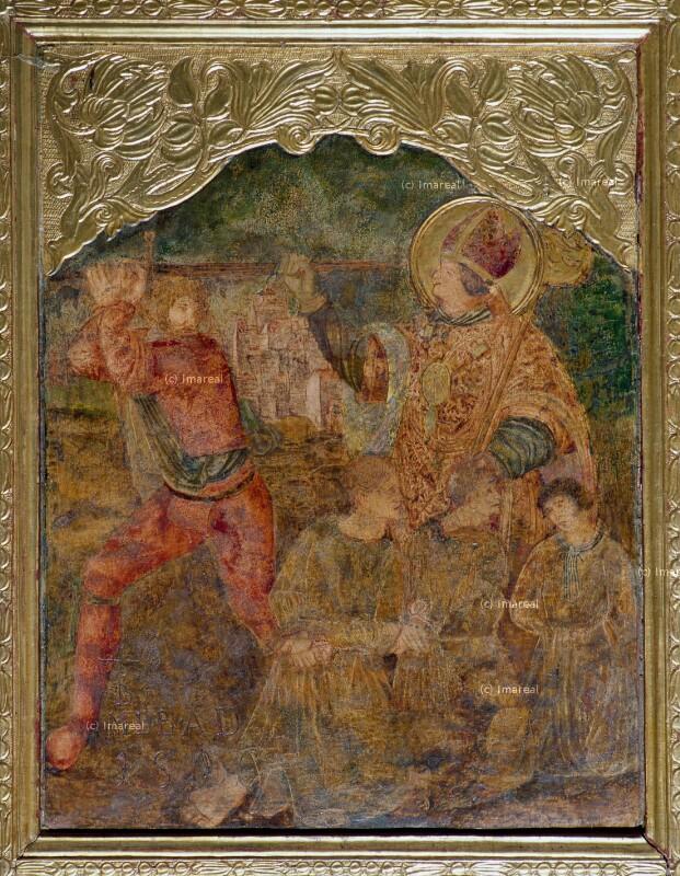 Hl. Nikolaus rettet drei zum Tod Verurteilte