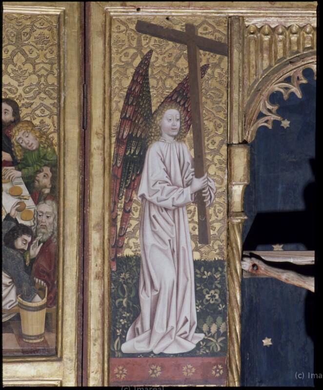 Engel mit Arma Christi von