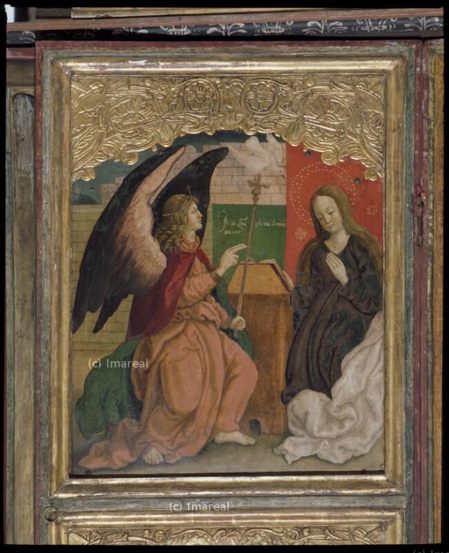 Verkündigung an Maria von Vicentius von Hermannstadt