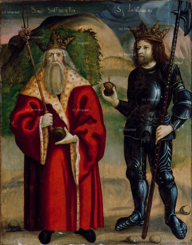 Hl. Stephan von Ungarn von Vicentius von Hermannstadt