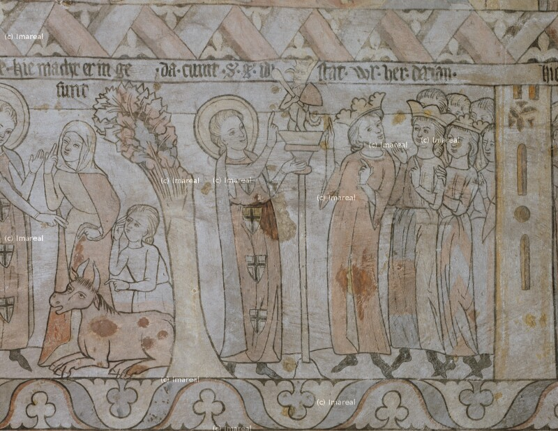 Hl. Georg vor König Dacian von