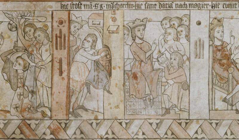 König Dacian sendet nach dem Magier von