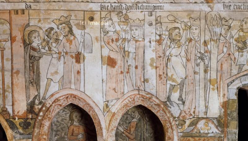 König Dacian und Alexandria von