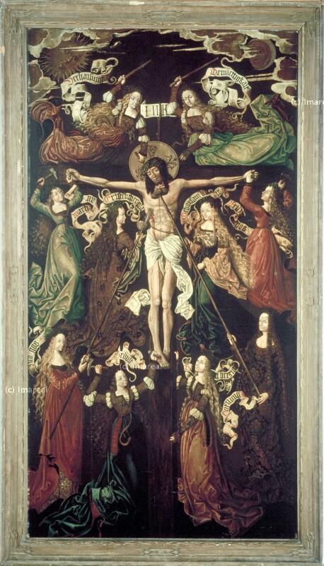 Symbolische Kreuzigung Christi von Burgkmair Thoman