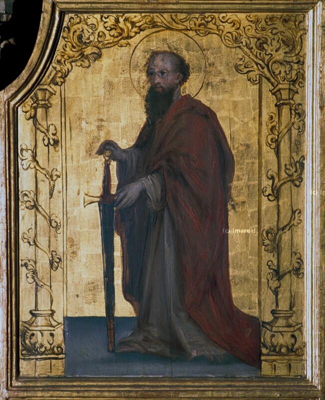 Hl. Paulus von Holbein-Kopie