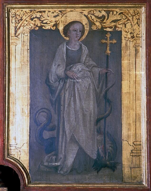 Hl. Margareta von Holbein-Kopie