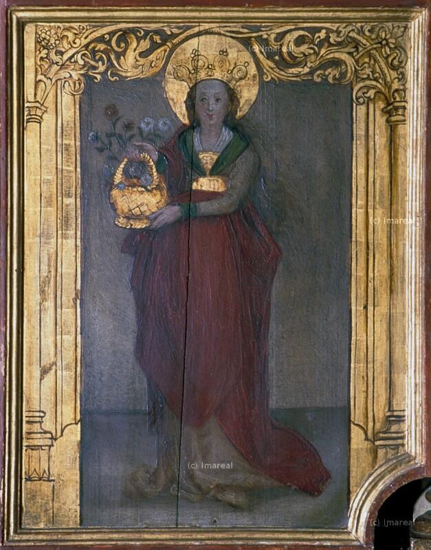 Hl. Dorothea von Holbein-Kopie