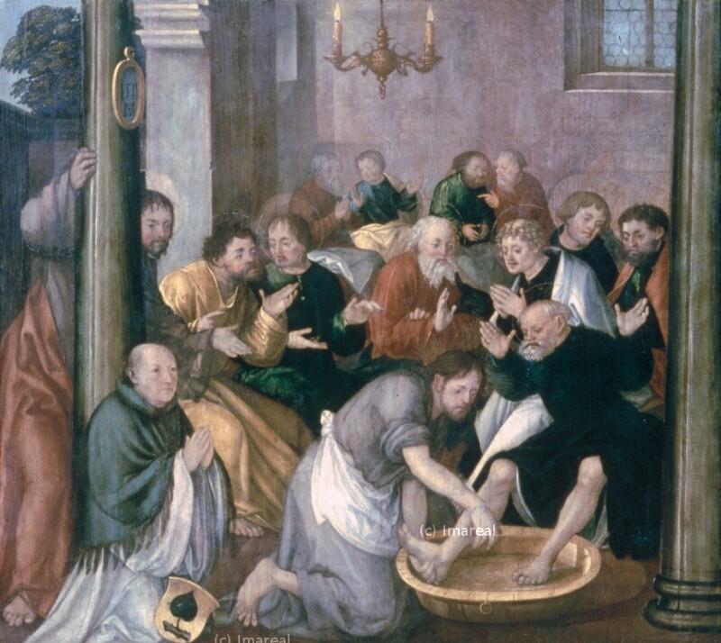 Fußwaschung Christi von Schaffner Martin